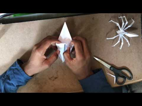 How to make an Origami Spider? (Part 1)