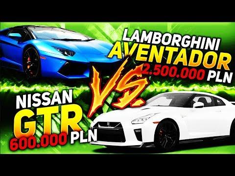 LAMBORGHINI AVENTADOR VS GTR / TVN TURBO ADAM KORNACKI | SASHA VLOG