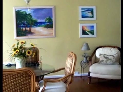 Artist's Beach Home and Paintings