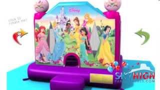 Disney princess 2 Moonwalk Rentals in Houston