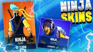 *NEW SECRET* NINJA SKINS IN FORTNITE! - Fortnite battle Royale Ninja Skin!