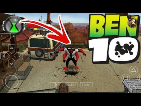 تحميل لعبة Ben 10 على محاكي ppsspp