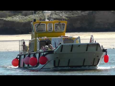 Padstow Cornwall Ferry to Rock