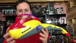 How to safely disassemble a Kawasaki Sax-A-Boom Saxaboom - Jack Black Tenacious D