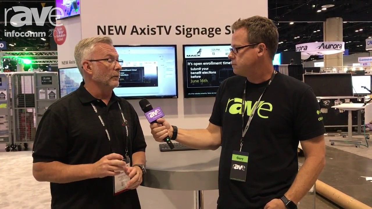 InfoComm 2017: Gary Kayye Talks to Sean Matthews of Visix About the Future of Digital Signage