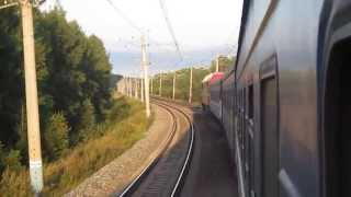 Видео снятое из окна поезда Иркутск-Минск(, 2013-05-16T14:01:58.000Z)