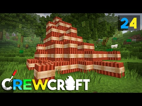 Crewcraft Minecraft Server :: Hardest Worker in the Room! E24