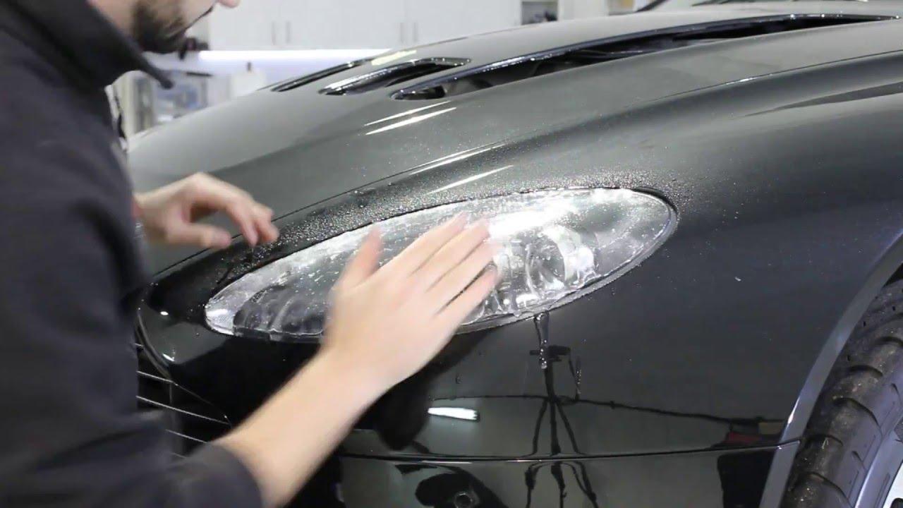 CleanDetail Aston Martin V Vantage Headlight XPEL Paint - Aston martin headlights