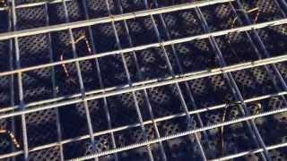Армирование фундаментной плиты(через YouTube Объектив., 2015-10-20T15:41:12.000Z)