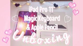 2020 iPad Pro + Apple Pencil & Magic Keyboard Unboxing!
