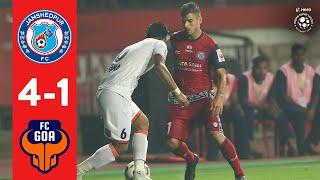 Hero ISL 2018-19 | Jamshedpur FC 4-1 FC Goa | Highlights
