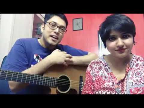 Hridoyer Rong Acoustic Version | Anupam Roy ft. Lagnajita(Live)