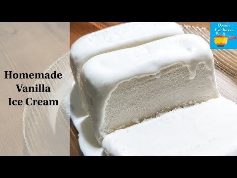 Easy Vanilla Ice Cream In 5 Minutes | Vanilla Ice Cream Recipe | Soft Creamy Ice Cream