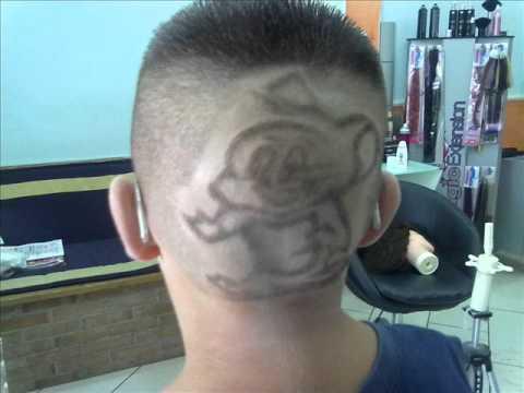 Conosciuto disegni nei capelli.wmv - YouTube EF12