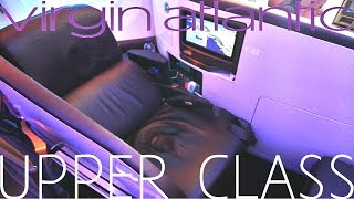 Virgin Atlantic 787 BUSINESS CLASS|UPPER CLASS|London to Los Angeles|TRIP REPORT|Boeing 787-9