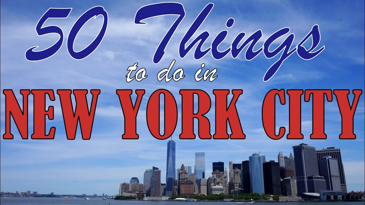 50 things to do in new york city top attractions travel guide youtube. Black Bedroom Furniture Sets. Home Design Ideas