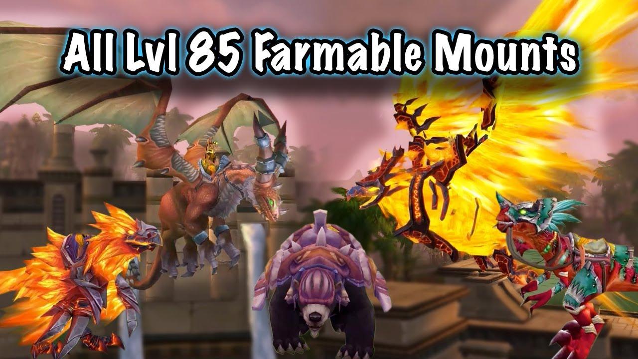 Jessiehealz All Lvl 85 Instance Mount Farming Guide Youtube