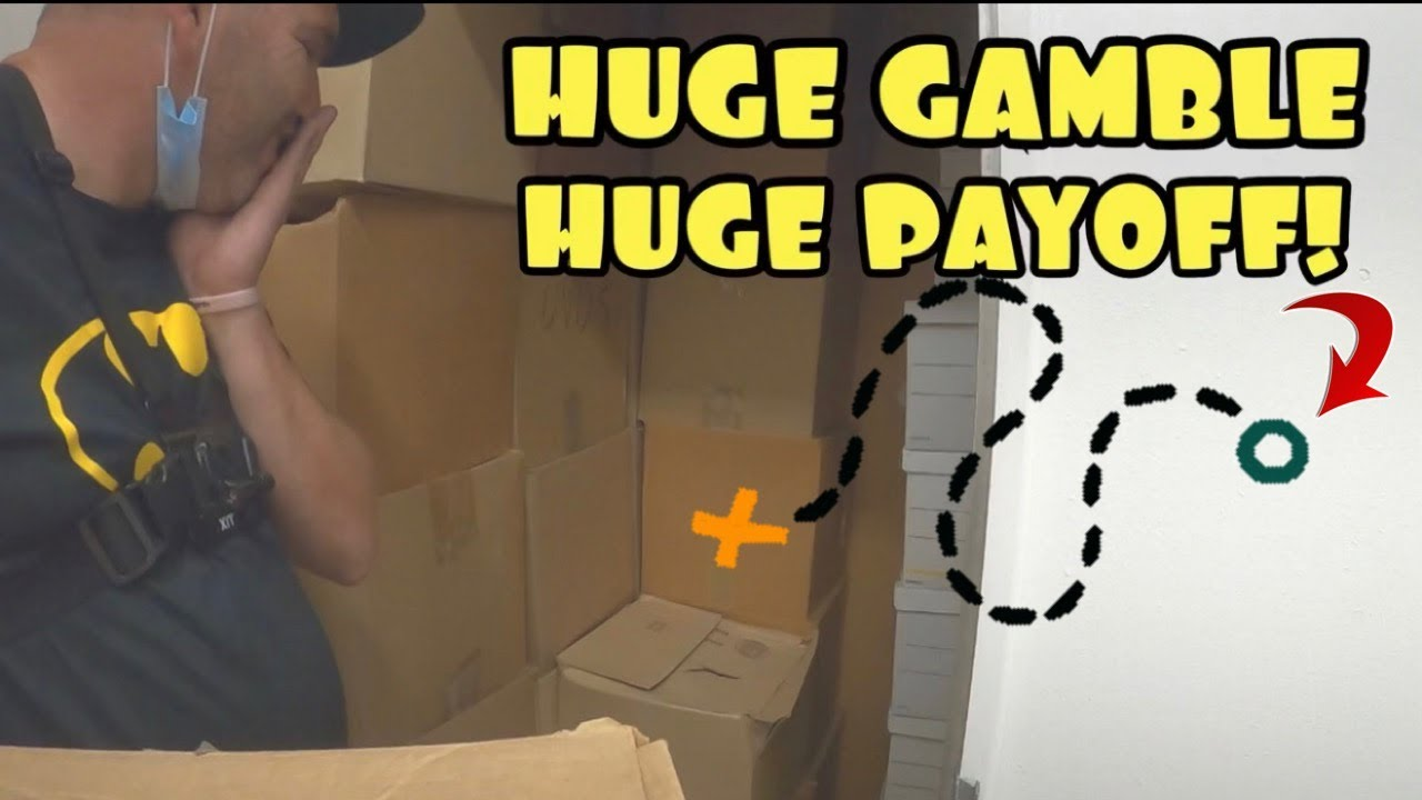 HUGE GAMBLE ! EVEN BIGGER PAYOFF ! $900 STORAGE WARS EXTREME UNBOXING MYSTERY BOXES