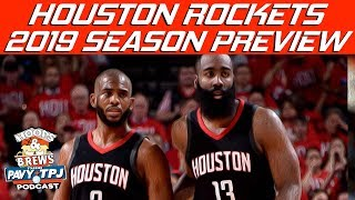 Houston Rockets 2018-2019 Season Previews | Hoops N Brews