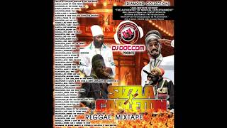 DJ DOTCOM PRESENTS SIZZLA X CAPLETON REGGAE MIXTAPE DIAMOND COLLECTION