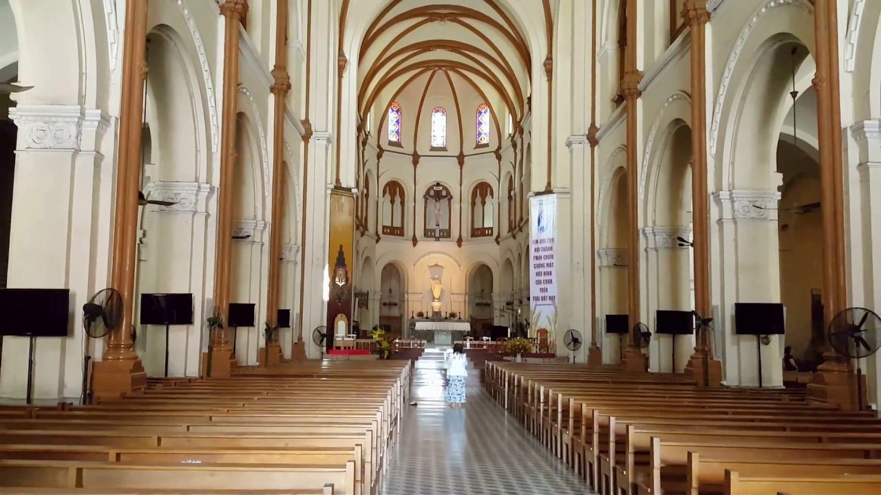 Bên trong Nhà thờ chính tòa Đức Bà Sài Gòn - YouTube