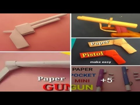 how to make origami/paper weapons - paper weapons easy - origami weapons easy
