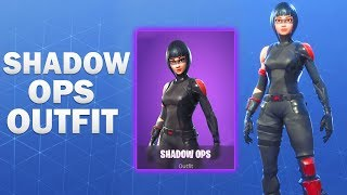 Shadow Ops Fortnite Skin Showcase