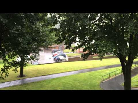 Hurricane Bertha Hits Wigan UK 10/8/2014 part 2