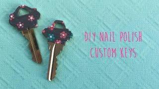 DIY Nail Polish Custom Keys