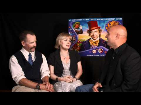 Peter Ostrum and Julie Dawn Cole  Willy Wonka and the Chocolate Factory