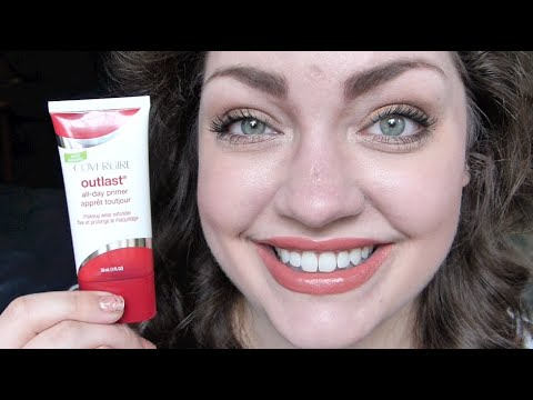 covergirl outlast all day primer first impression review youtube. Black Bedroom Furniture Sets. Home Design Ideas