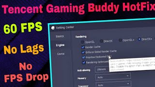 PUBG Mobile | Tencent Gaming Buddy | Zombie Mode | LAG Fix | 60 FPS | any graphics card