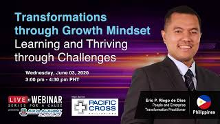 Transformations through Growth Mindset: Learning and Thriving through Challenges