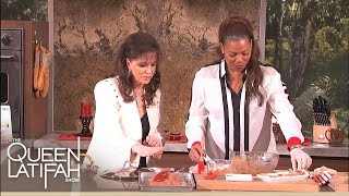 Jackie Collins Heats Things Up With Her Book And In The Kitchen
