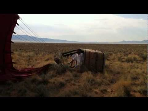 Landing the Hot-air Balloon in the High Desert near Albuquerque, NM