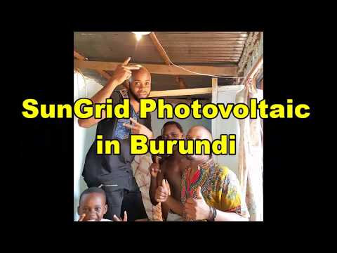 SunGrid Photovoltaic in Burundi