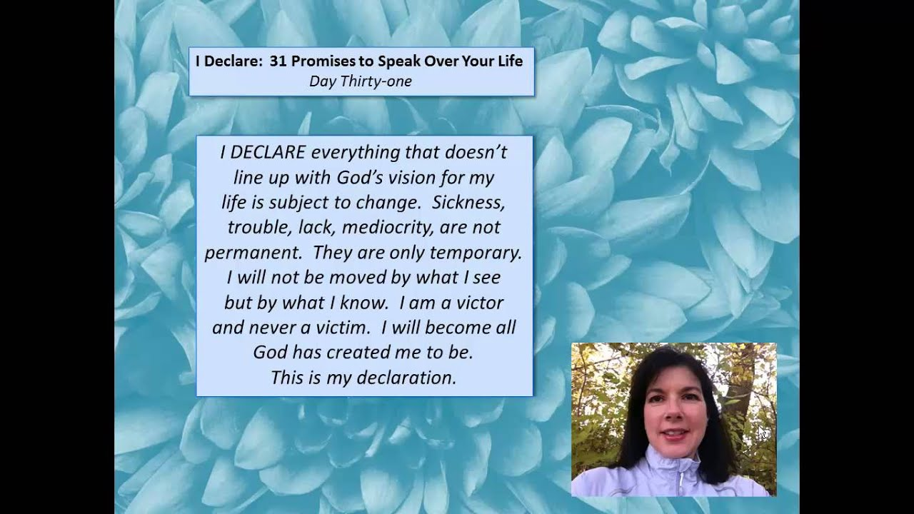 I DECLARE! 31 Life Promises Hardcover BOOK by Joel Osteen