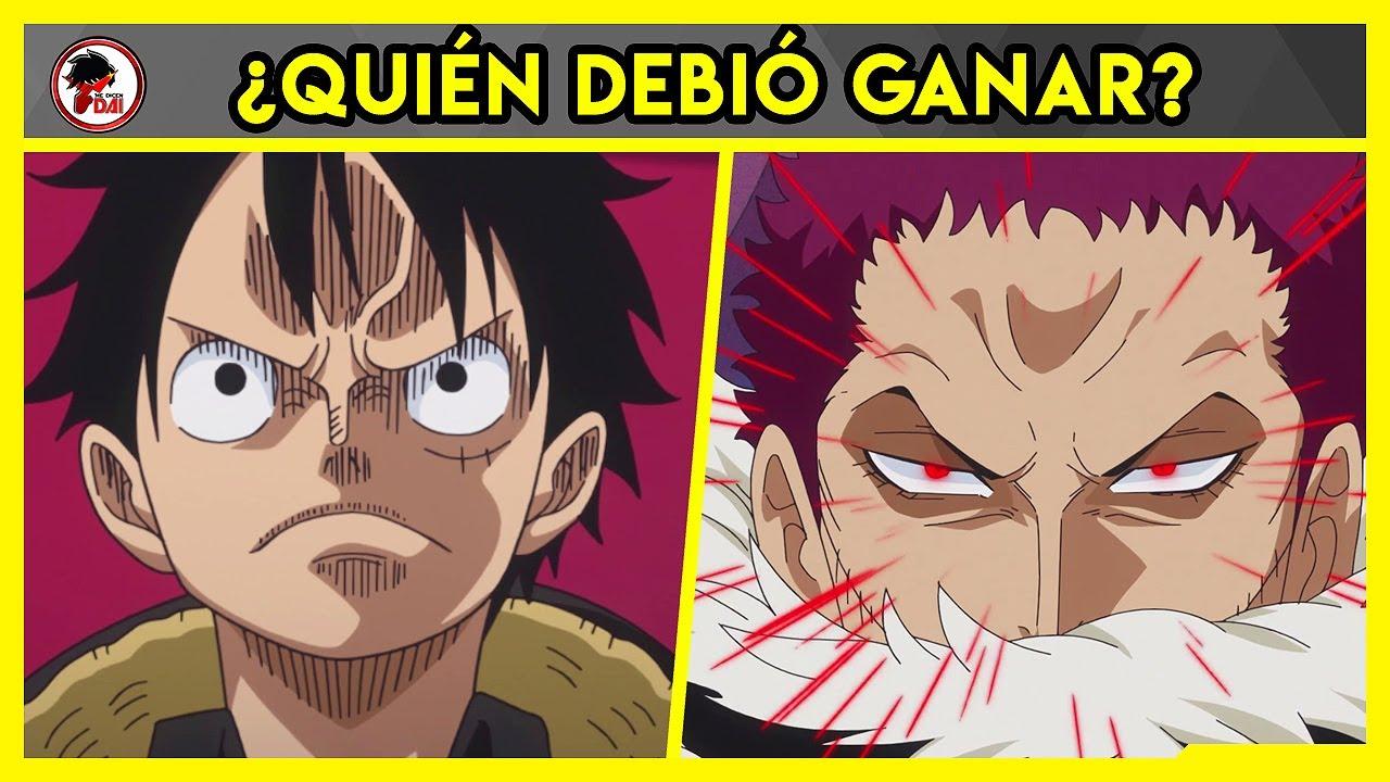 One Piece: Luffy vs Katakuri - QUIÉN DEBIÓ GANAR