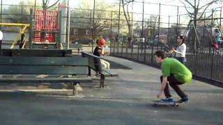 Pop Shuv-it To Smith To 5050 Fs 180 Out