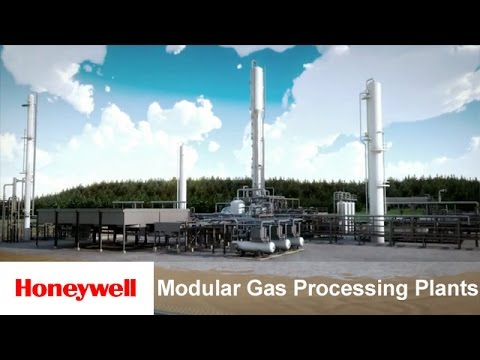 UOP Russell Modular Gas Processing Plants - Summary Animation | Oil & Gas | Honeywell