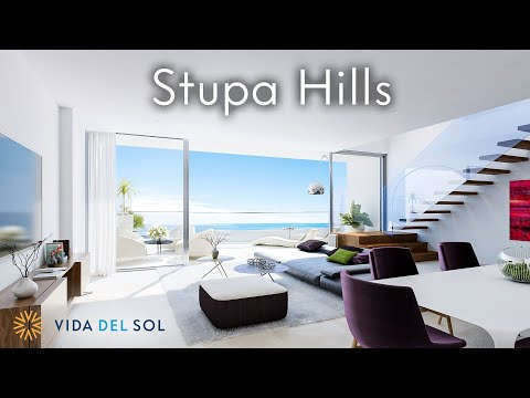 Stupa Hills: Flats and penthouses with unbeatable views over the coast