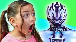 Hombre Robot-Radioactivo | Skit Divertido para la Familia