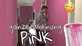 Ich streiche unsere Wohnung heimlich PINK !! 😱 | BibisBeautyPalace