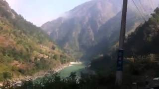 Highway from pokhara back to kathmandhu