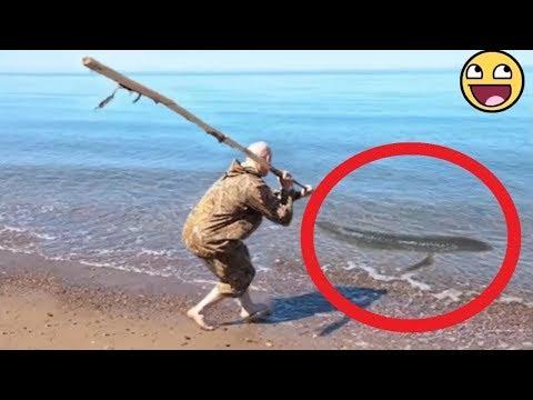 Смешные приколы на рыбалке