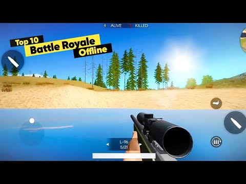 Top 10 OFFline Battle Royale Games For Android 2020 | Like PUBG Mobile
