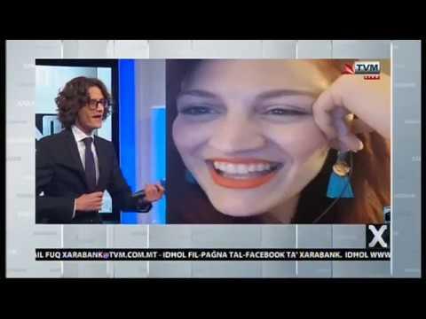 Jessika Interviewed on Xarabank (Post-Eurovision 2018 for San Marino)