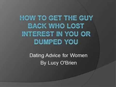 How to Get the Guy Back Who Lost Interest in You or Dumped You