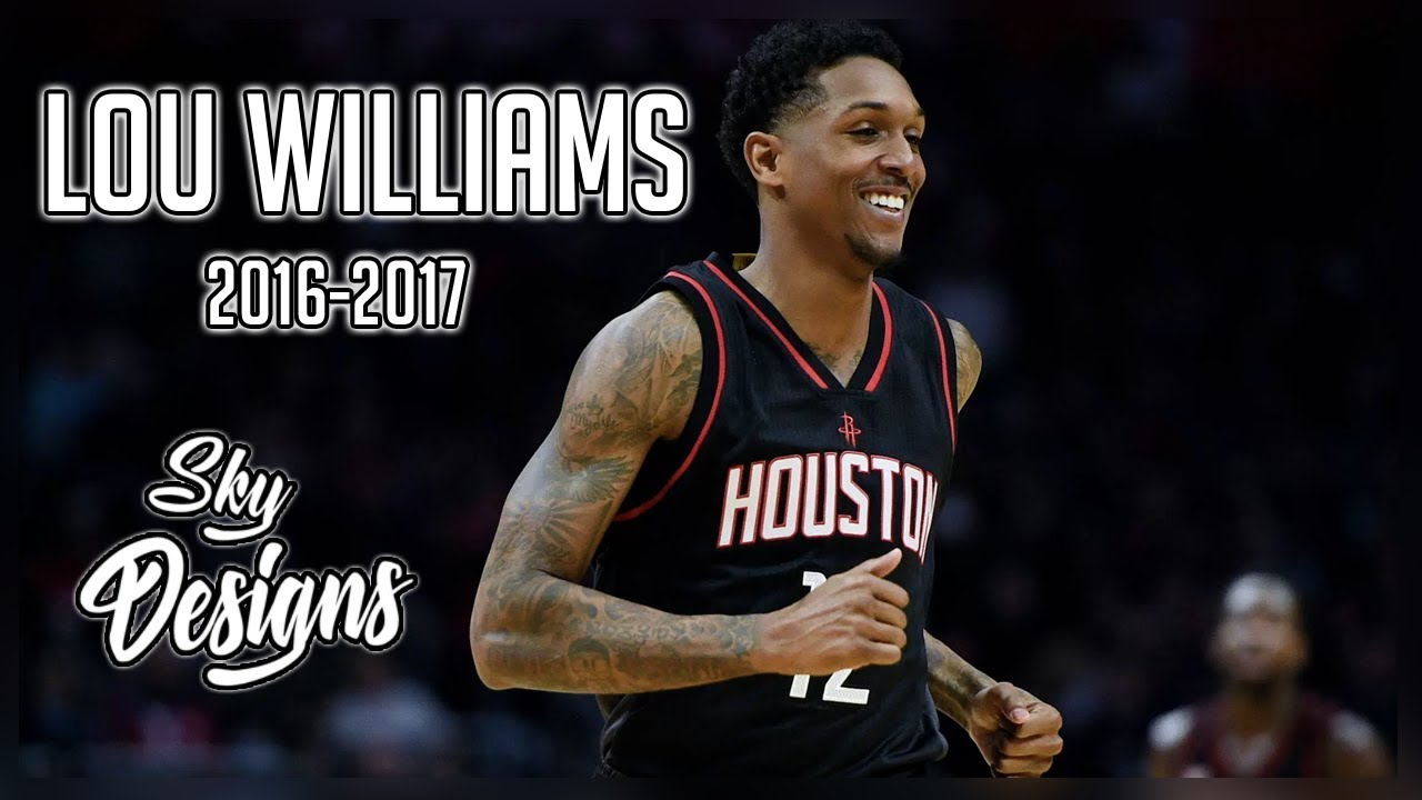 b56bd019a Lou Williams Official 2016-2017 Season Highlights    17.5 PPG