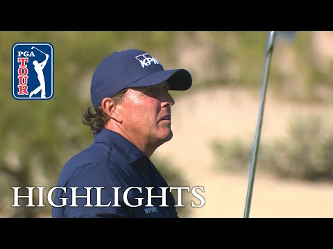 Phil Mickelson's extended highlights | Round 4 | Waste Management